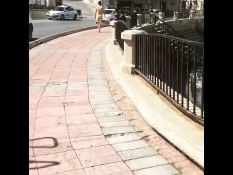 The Malta Independent - Man walking naked in St Julian's