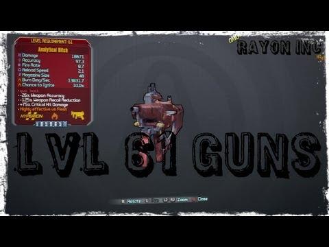 LvL 61 Orange Weapons