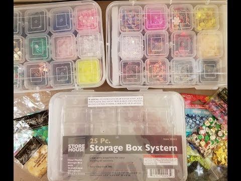 ***CLOSED*** Harbor Freight Sequin Storage System Haul + Giveaway!