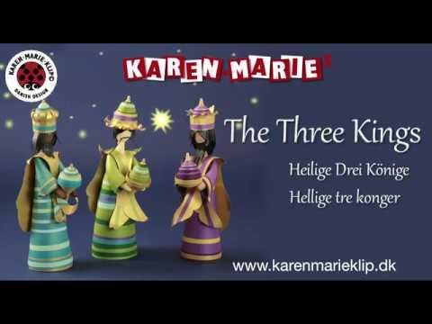 Quilling The Three Quilling Kings Heilige Drei Könige Hellige