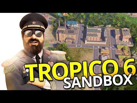 Tropico 6 SANDBOX   BOAT BUILDING (#4)