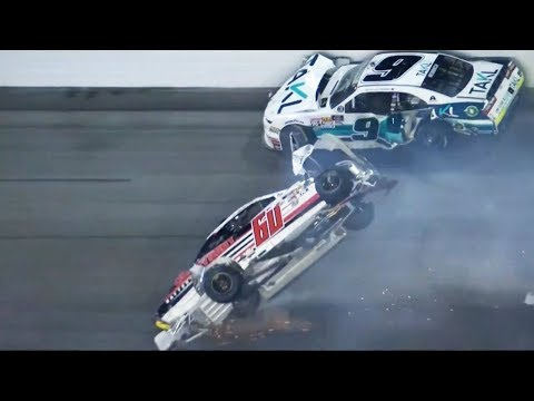 NASCAR WTF Crashes of 2018