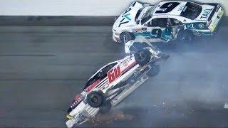 NASCAR WTF Crashes of 2018
