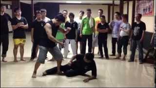 Pelatihan Kungfu Wing Chun di Perguruan Harimau Besi