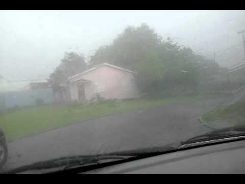Rainin in Antigua