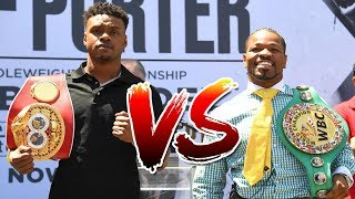 Top Welterweight Prospect, Malik Hawkins Gives His Spence vs Porter Pick