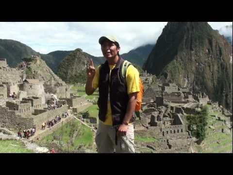 Machu Picchu as interpreted by Elistan Guillen Paucar, our Inka Trail Guide