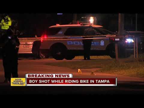Teen shot while riding bike in East Tampa thumbnail