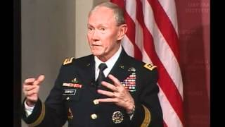 Security Paradox - A Public Address by General Martin E. Dempsey || Institute of Politics