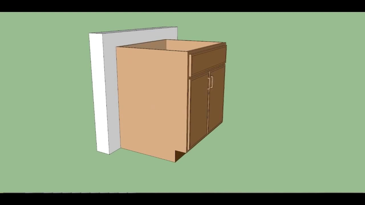 How To Use Laser Level Base Cabinets ? - YouTube