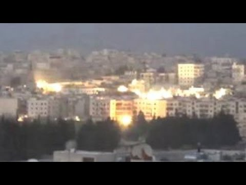 Russian Jet Drops Cluster Bombs On Aleppo, Syria