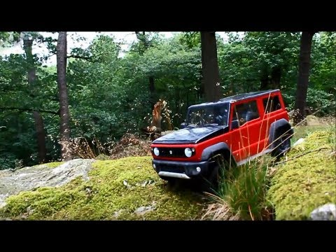 suzuki jimny 2018 hard offroad youtube. Black Bedroom Furniture Sets. Home Design Ideas