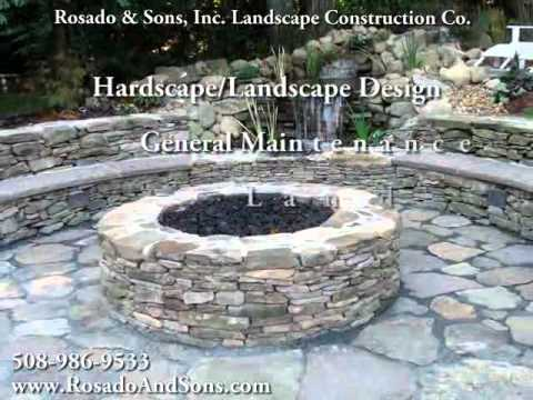 Rosado & Sons Inc Landscape Construction, landscaping, water features, Westborough, MA