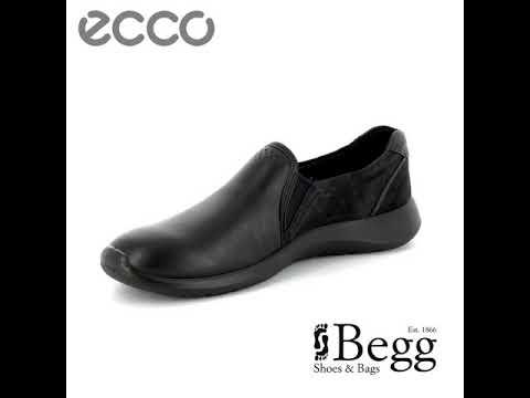 e432507d ECCO Soft 5 283003-53859 Black comfort shoes