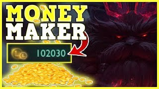 I MADE 100.000 GOLD IN 2 MINS!!! | **NO CLICKBAIT!!!!** | NEW RECORD IN LEAGUE OF LEGENDS | ORNN BUG