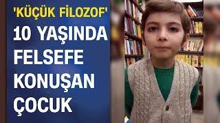 Türkiye 10 yaşındaki Atakan'ı konuşuyor! 5 ayda 250 felsefe kitabı okudu