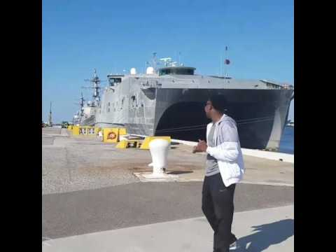 Naval Station Mayport Tour