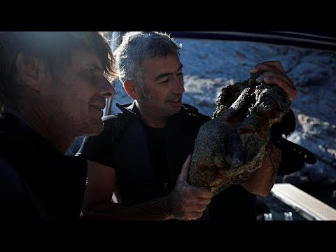 Descobertos destroços de mais de 58 naufrágios no mar Egeu