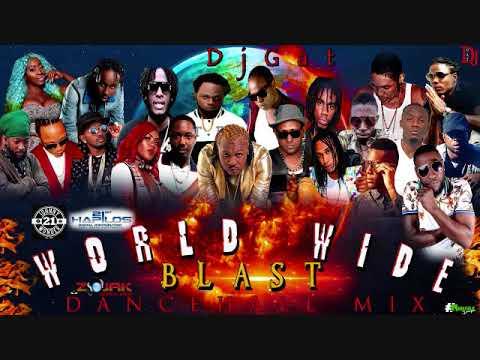 DANCEHALL MIX FEBURARY 2019  DJ GAT WORLD WIDE  BLAST MIX FT VYBZ KARTEL/RYGIN KING/POPCAAN/TEEJAY