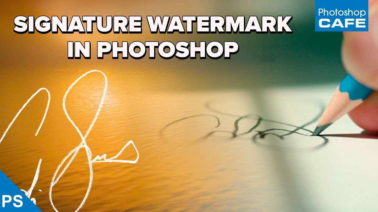 How to Easily Turn Your Signature into a Photo Watermark in