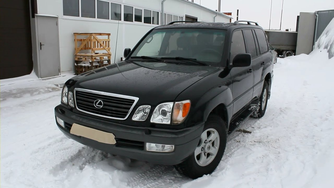 1999 lexus lx 470 start up engine and in depth tour youtube 1999 lexus lx 470 start up engine and in depth tour