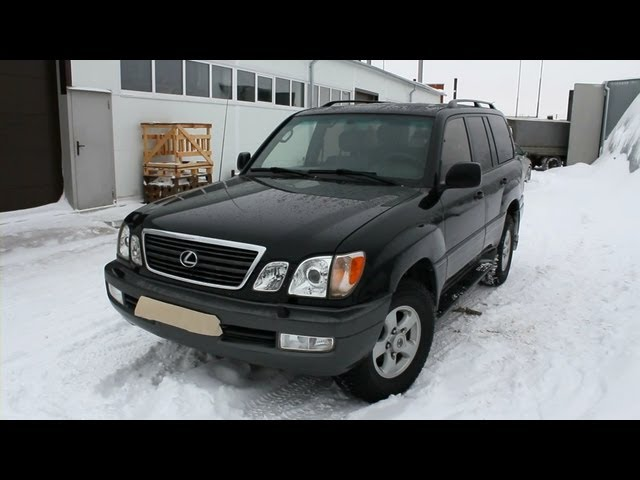 1999 Lexus LX 470  Start Up, Engine, and In Depth Tour