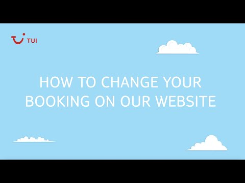 How to change your booking online   TUI help & FAQs