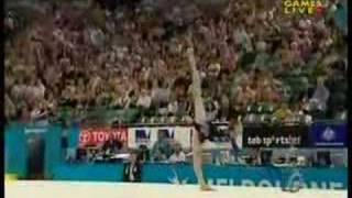 Melissa Logan 2006 Commonwealth Games Ribbon Team Final