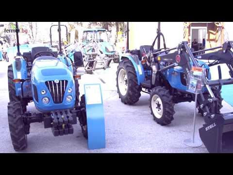 Сатнет на АГРА и СИМА 2017 с тракторите LS (LS tractors - AGRA 2017 and SIMA 2017)