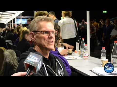 Trek Radio s Steve Rankin at Destination Star Trek Germany