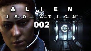 ALIEN ISOLATION #002 - ANGST macht sich breit [FACECAM] [HD+] | Let