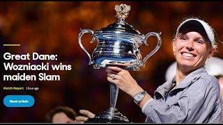 Australian Open 2018 - Great Dane Wozniacki wins maiden Slam