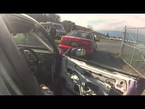 Brandon drifting his s13 LS1 at Lebanon Valley Speedway
