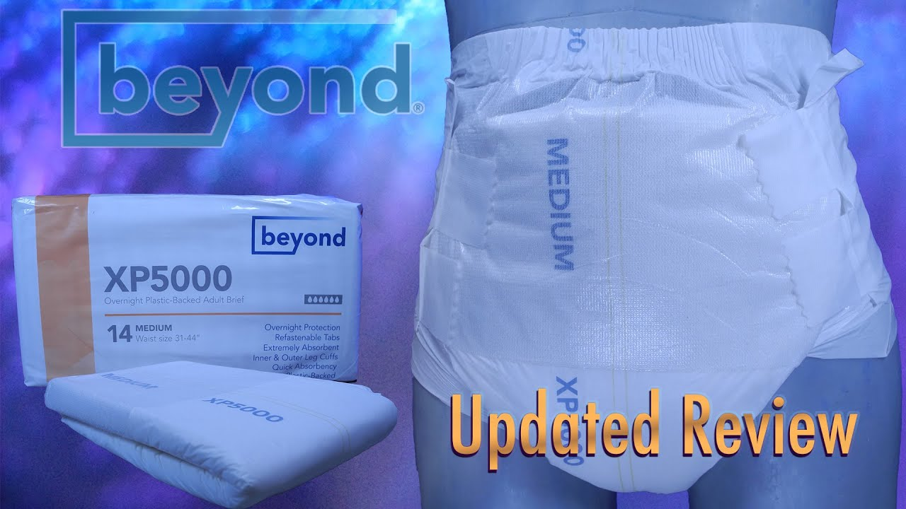 Beyond Xp5000 Updated Review   #adultdiaper