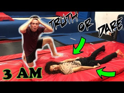 (WE SUMMONED A DEMON!!) PLAYING TRUTH OR DARE AT 3 AM!!