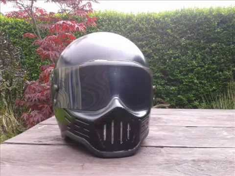 Late 70 S Early 80 S Simpson Rx1 Helmet Youtube