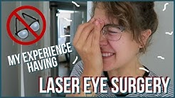 I TRIED LASIK EYE SURGERY (PRK)   Price, Pain, Recovery Time, Etc.!