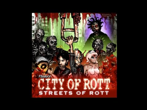 City of Rott: Streets of Rott - Gameplay Trailer (2017 Version) Steam