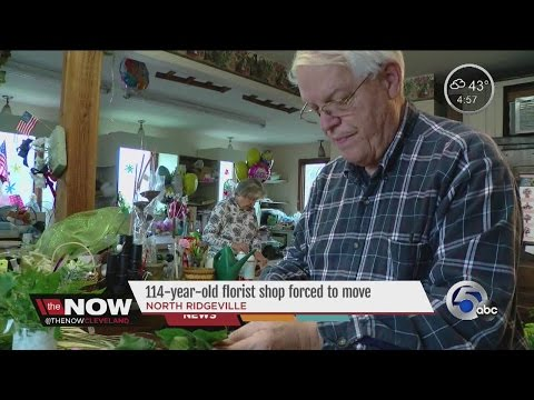 112-year-old florist shop forced to move