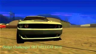 Dodge Challenger SRT HELLCAT 2015 для GTA SAMP Замена модели машин в samp#10