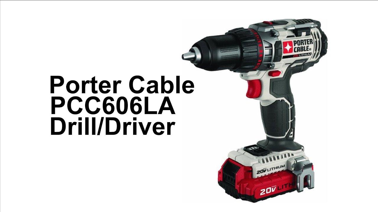 Porter Cable PCC606LA Drill Driver - YouTube