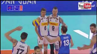 Argentina - Italy M VNL 2018 - Full Match Highlights - HD