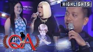 Jhong gets nervous when Vice called Sanrio on stage | It's Showtime Mr Q and A