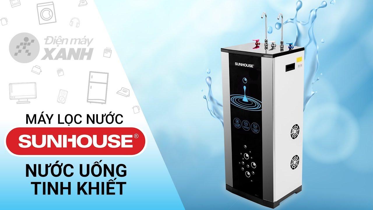 Máy lọc nước RO Sunhouse 10 lõi: có vòi nóng lạnh tiện lợi (SHR76210CK) • Điện máy XANH