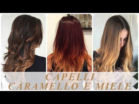Modelli Di Ombrè Capelli Caramello E Miele Youtube