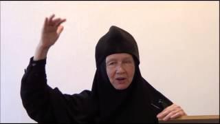 Встреча с монахиней Марией (Литвиновой) в Скорбященском монастыре(Беседа монахини Марии (Литвиновой) с монашествующими и прихожанами Скорбященского женского монастыря..., 2015-06-23T05:39:17.000Z)