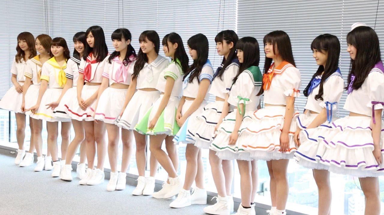 wws独占第8弾 super girls 3期新メンバー木戸口桜子 石橋蛍 尾澤ルナ