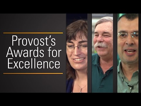 Provost's Awards for Excellence - 2014
