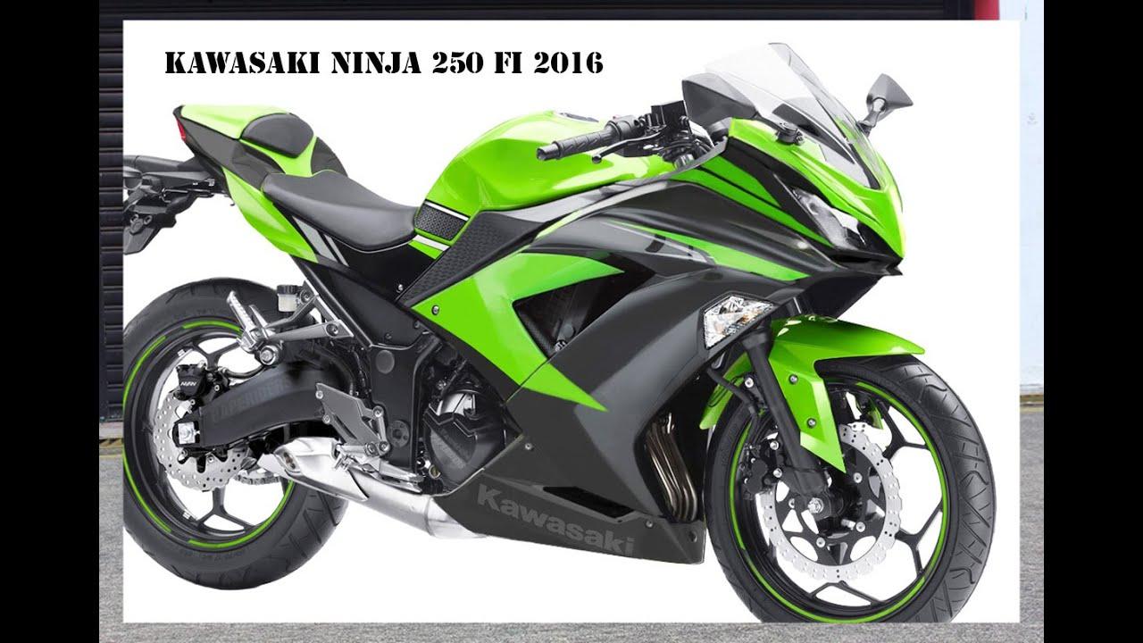 Motor Terbaru Kawasaki Ninja 250 FI 2016