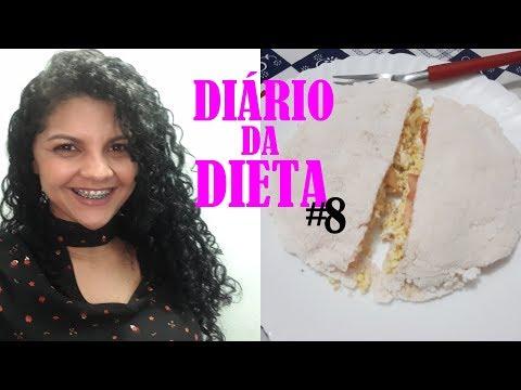 DIÁRIO DA DIETA  8     ROSALYA ALMEIDA